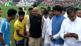 Deputy minister for sports turns player from spectator