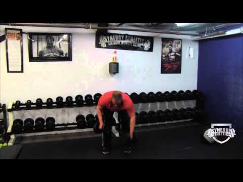 Build Strong Back Muscle:  3 Point Dumbbell Row