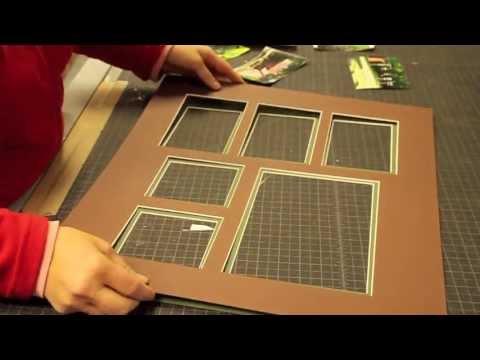 FASTFRAME Eagan - Demonstration of Custom Framing and Matting
