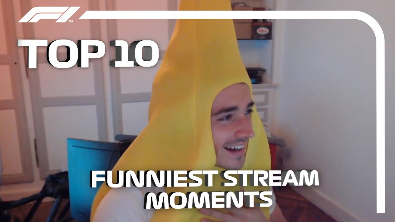 F1 Driver Streams: Top 10 Funniest Moments!