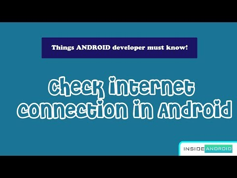Check Internet Connection in Android   Android Studio