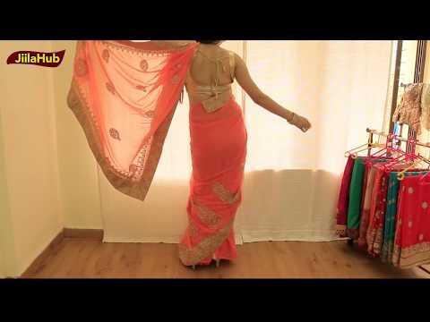 Mix & Match Stylish Saree Draping | Designer Saree Wearing Method on Your own : Wedding Season Hacks