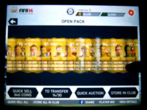 FIFA 14 IOS - INFORM! 6,000 FIFA Point Pack Opening! (3 x 100K Packs)!