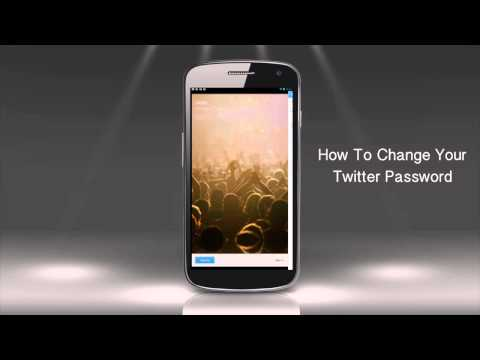 How to Change Twitter Password on an Android Device