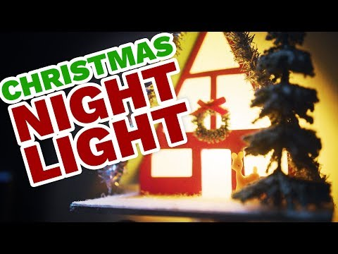 DIY Holiday Night Light - HGTV Handmade