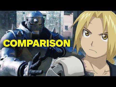 Full Metal Alchemist - Live Action Movie vs. Anime Comparison