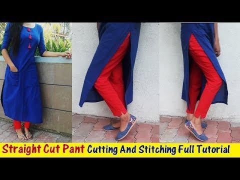 Xxx Mp4 DIY Straight Cut Pant Cutting And Stitching Full Tutorial Part 2 3gp Sex