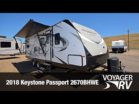 2018 Keystone Passport 2670BHWE Travel Trailer Video Tour - Voyager RV Centre