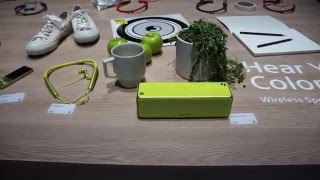 Sony at CES 2016 - audio products