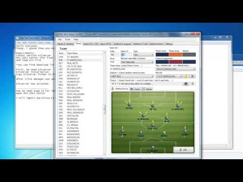 How to Import Kits to PES 2013 [TUTORIAL]
