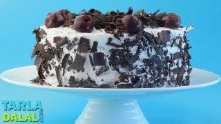 ब्लैक फॉरेस्ट केक (Black Forest Cake) by Tarla Dalal