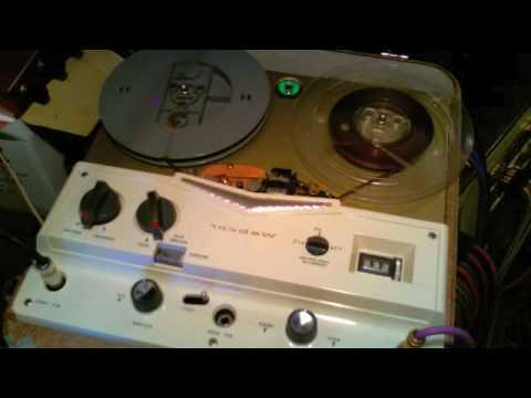 HOMEMADE Delay - Tube Reel to Reel Tape Delay- Webcor Regent