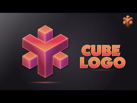 Illustrator CC Tutorial | Graphic Design | Isometric Cube Logo