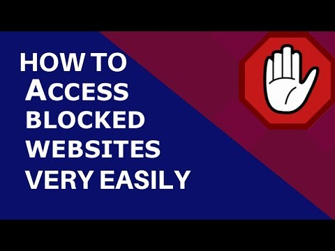 How To Open A Blocked Website using VPN or A Proxy Server