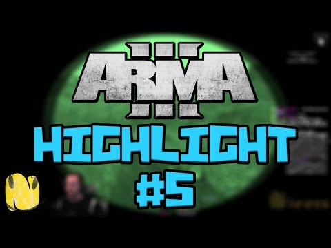 Arma 3 Highlight #5 - Intel search, stealing cars, finding bunnies