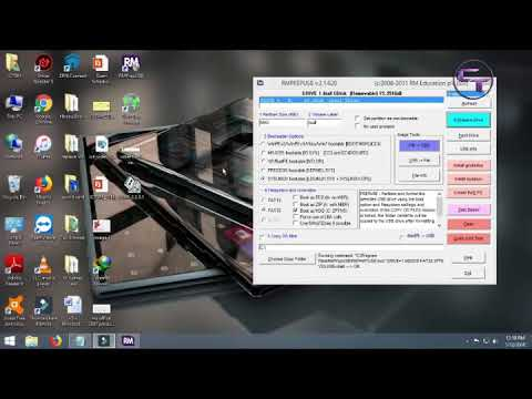 How to boot hiren boot CD from usb pen drive using RMPREPUSB