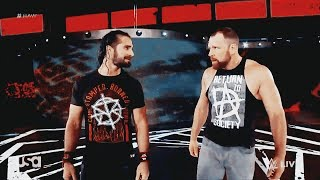 Dean Ambrose / Seth Rollins • the heart & the head