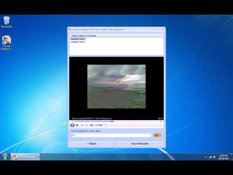 How To Use Convert Multiple AVI Files To WMV Files Software