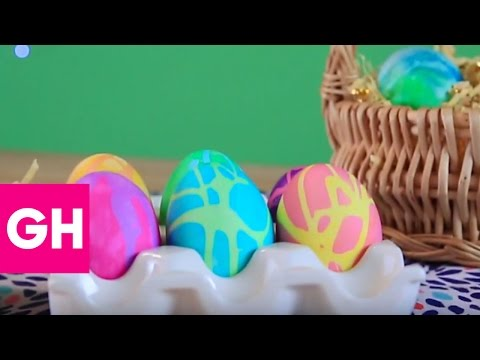 Rubber Cement Easter Eggs | GH