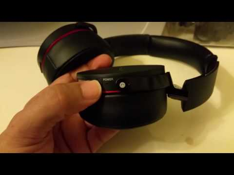 How to connect SONY MDR-XB950bt bluetooth to Windows 10