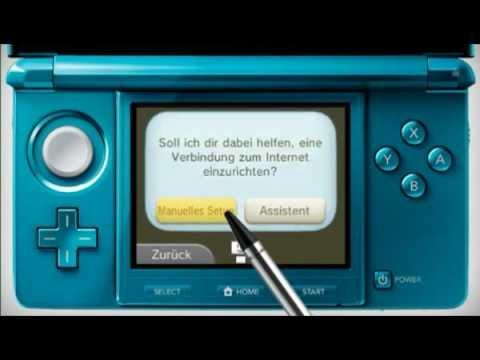 Nintendo 3DS mit dem Internet verbinden