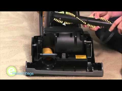 Changing the U belt on your Eureka vacuum cleaner