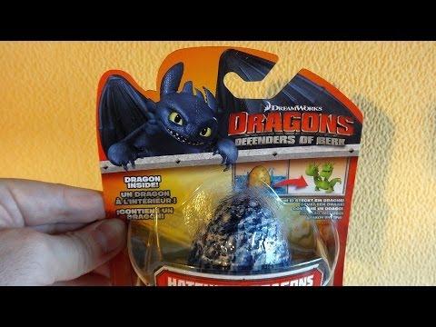 Dragons: Defenders of Berk Surprise Fizzing Egg #2 Hatching Dragon Toys ヒックとドラゴン