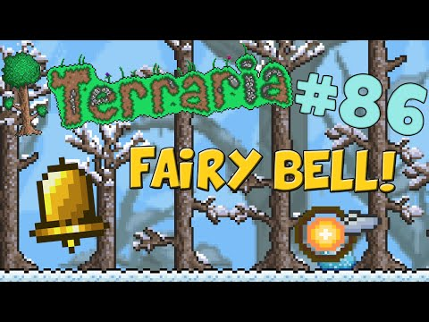 Let's Play Terraria (1.2) iOS/Android Edition - Crafting the Fairy Bell! - Episode 86