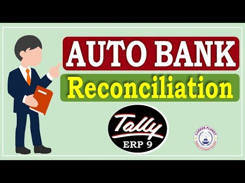 Auto Bank Reconciliation in Tally ERP 9 Part-108| Learn BRS in Tally