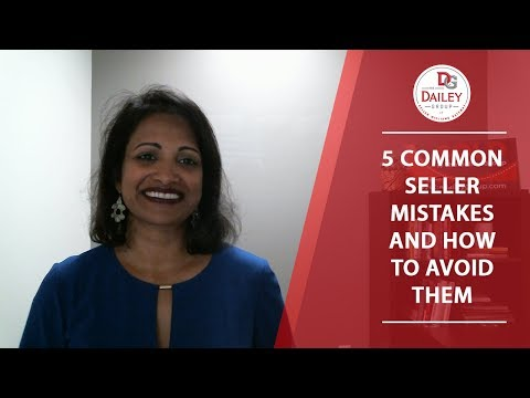 What Mistakes Should Sellers Avoid?