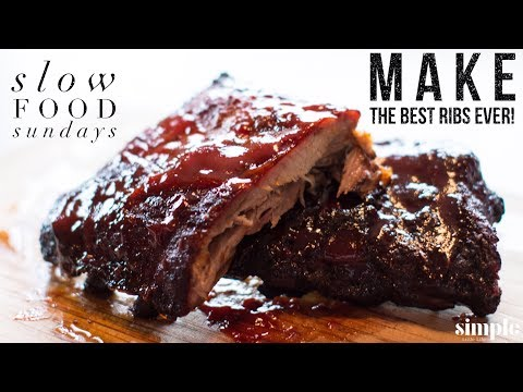 How to Make the Best Pork Ribs Ever - Slow Food Sunday - (with recipe)