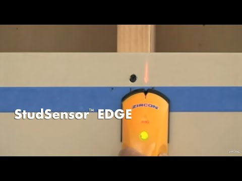 How to Use a Zircon StudSensor EDGE Stud Finder to Find Wall Studs