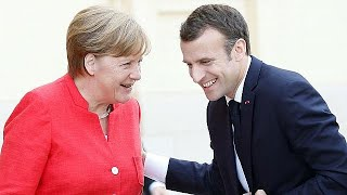 Watch again: Macron and Merkel want to agree Eurozone reform by June