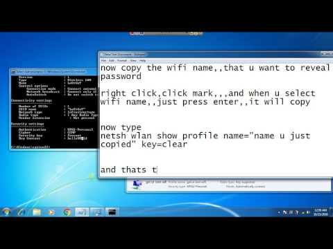 how to view saved wifi passwords in win7,8,8 1,10
