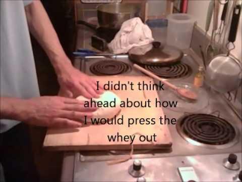 How to make paneer (cheese made via lemon juice instead of rennet)