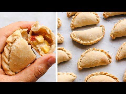 How to Make CORN EMPANADAS 🌽  // Easy Vegan Recipe