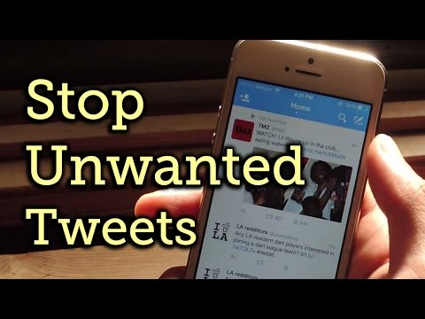 Stop Twitter from Showing You Tweets That Other People Favorite or Follow [How-To]