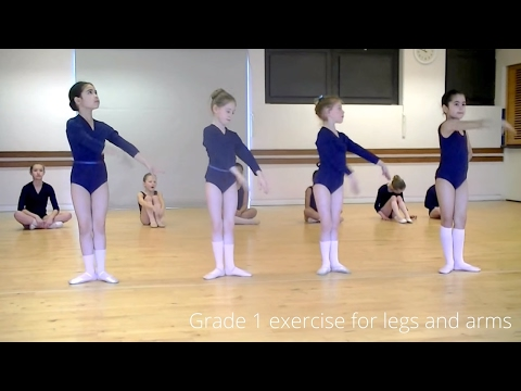 Ballet class video age  6-7 year olds   (Grade 1 Ballet  RAD)