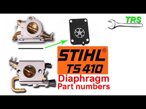 Stihl TS410/20 Carburettor Diaphragm Part Numbers