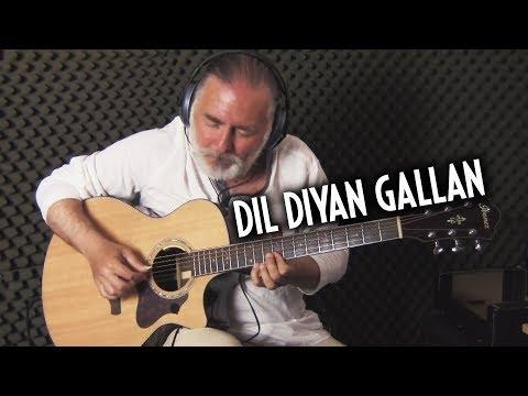 Dil Diyan Gallan - Tiger Zinda Hai | Salman Khan | Katrina Kaif | Atif Aslam - guitar cover