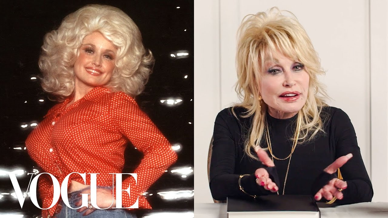 Dolly Parton Breaks Down 11 Looks From 1975 to Now | Life in Looks | Vogue