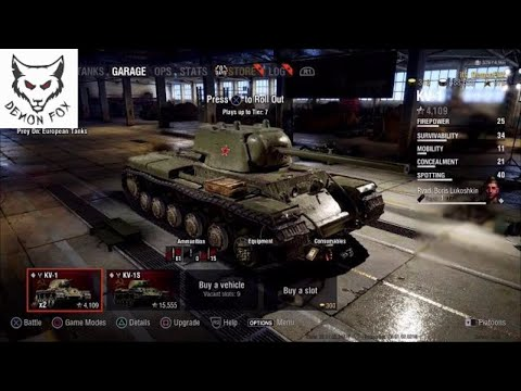World of tanks PS4: World of tanks - FIrst Stream on PS4 - Stream replay