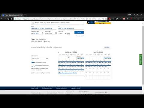 How to book United Airlines award travel