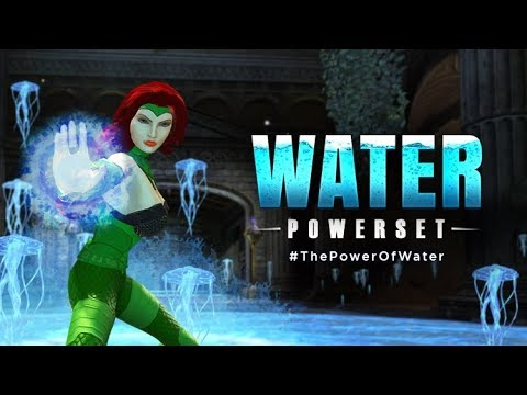DCUO DIFFERENT EASY WAYS TO GET THE NEW WATER POWERS!!!