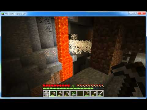 Let's Play Minecraft 1.0 Episode 4 Caves!