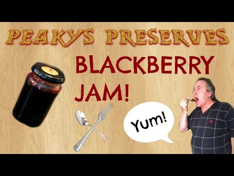 How to make seedless, British blackberry jam