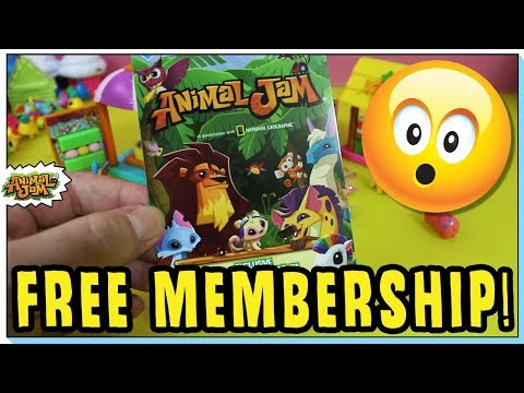ANIMAL JAM FREE MEMBERSHIP GIVEAWAY! ALL NEW PROMOS + DIAMONDS!