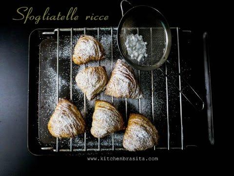 Come fare le sfogliatelle napoletane- squisite!! (how to make italian sfogliatelle)