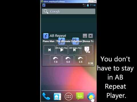 Introduction to AB Repeat Player on Android