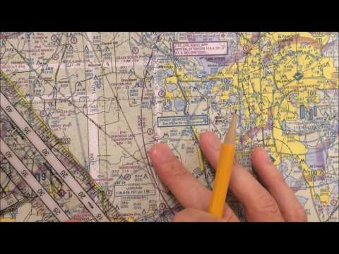 VFR Nav Log (Video 1)  Determine Route and Checkpoints